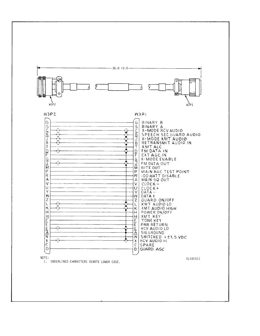 Arc Wiring Diagram List Of Schematic Circuit Redarc Diagrams Figure 4 Cx 13108 164 V Cable Assembly Rh Radiotestsets Tpub Com